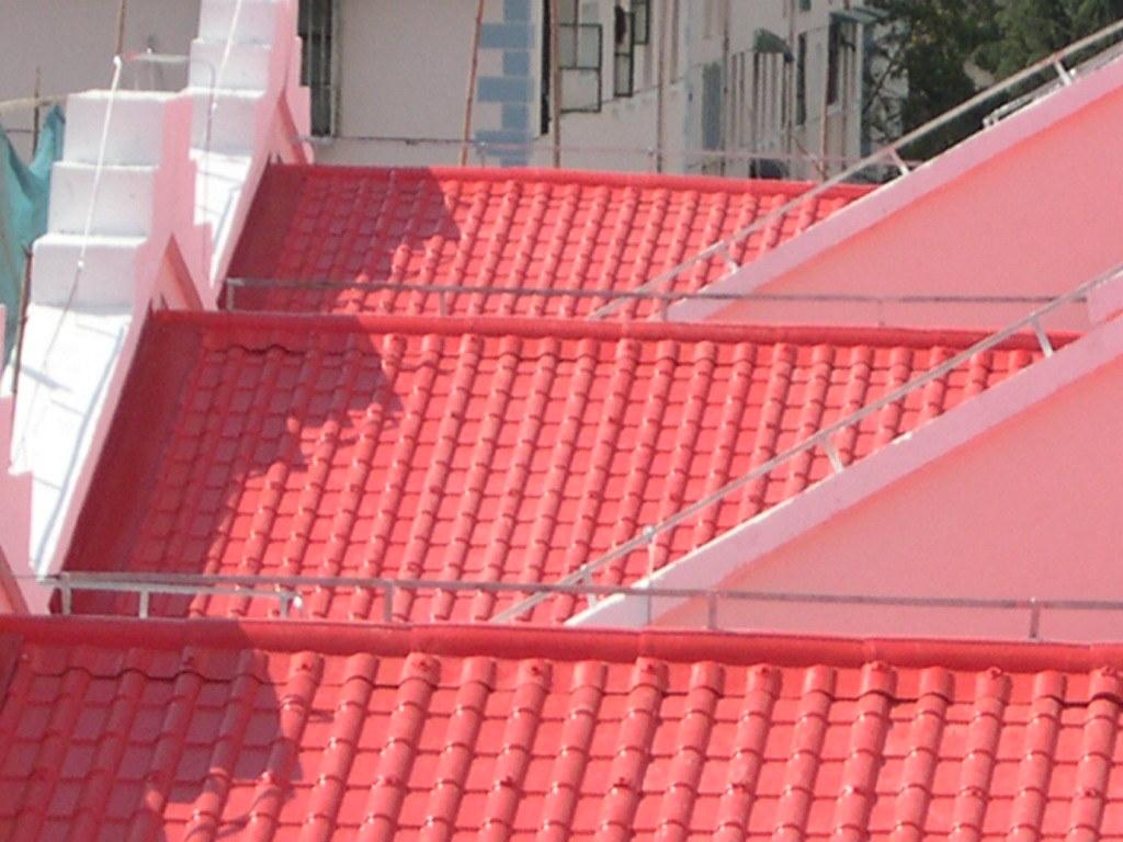 China Asa Pvc Roof Sheet China Tile Roof Tile