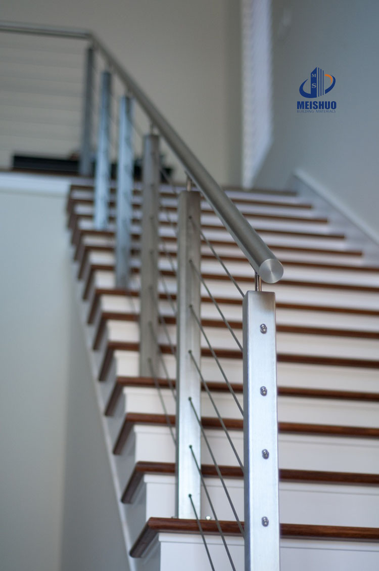 China Stair Stainless Steel Wire Cable Railing - China Wire Cable ...