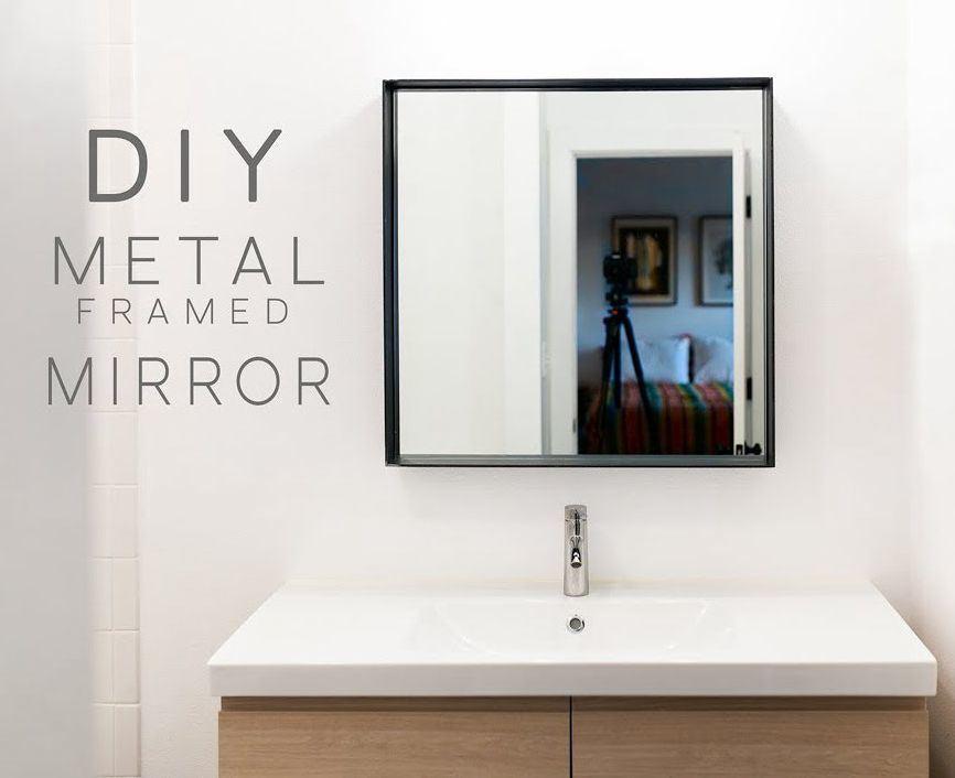 China Diy Decortive Wall Hanging Dining Room Square Framed Mirror China Mirror Framed Mirror