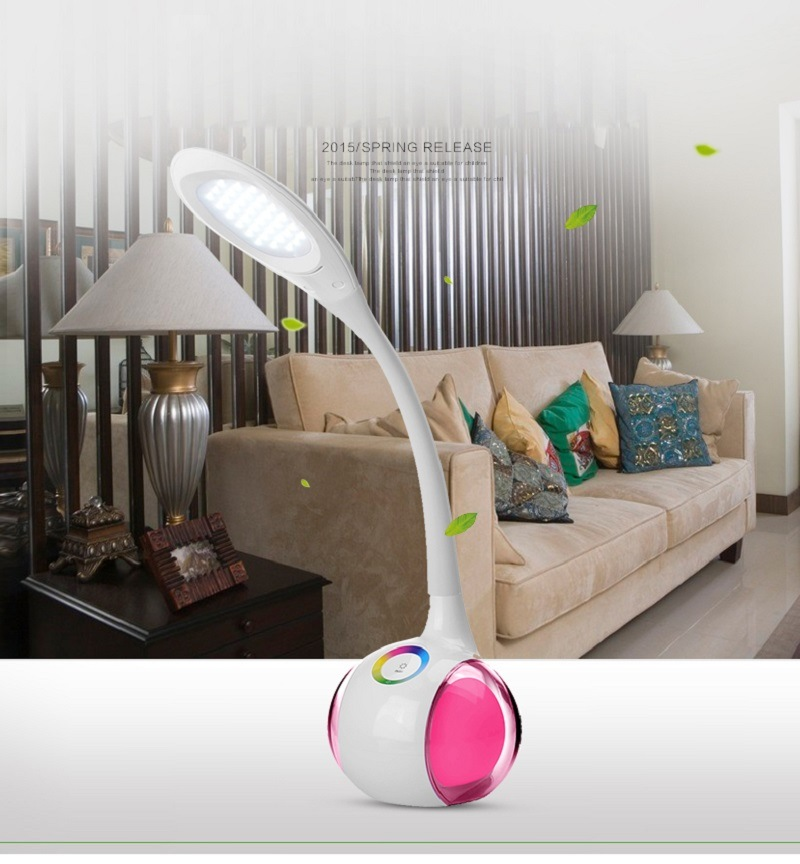China Led Desk Lamp Magic Colorful Color Changing Dimmable Led Book Lamps Led Table Light Led Book Lamp Wholesale Table Lamp Bedroom Lamps Rechargeable Lamp China Led Table Light Table Lamp