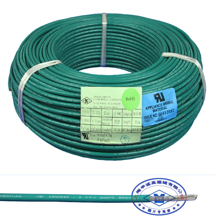 China UL 1330 AWG 20 24 26 28 FEP Teflon Insulated Wire - China UL ...