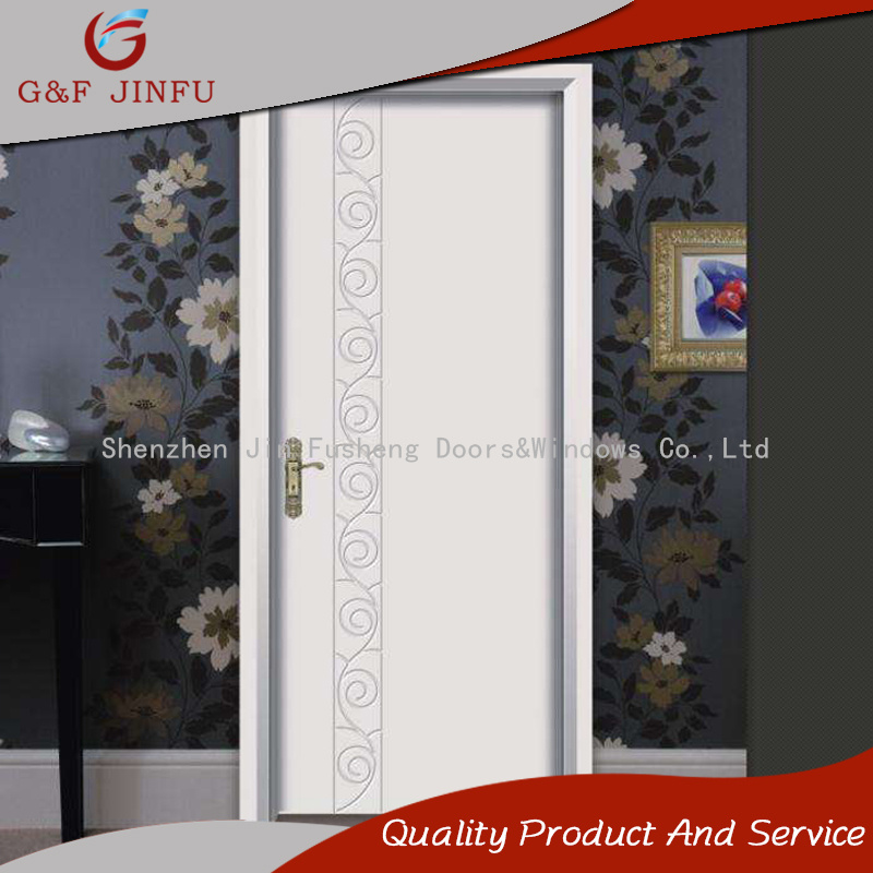 China Thermal Break Aluminium Profile French Entry Door For Bedroom