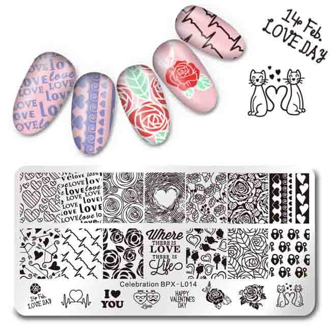 China Factory Directly Sale Nail Art Stamp Template Stamping Plates ...