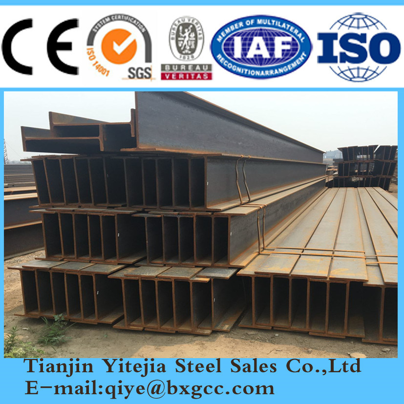 China Used Steel Beams Hot Sale H Beam Photos & Pictures