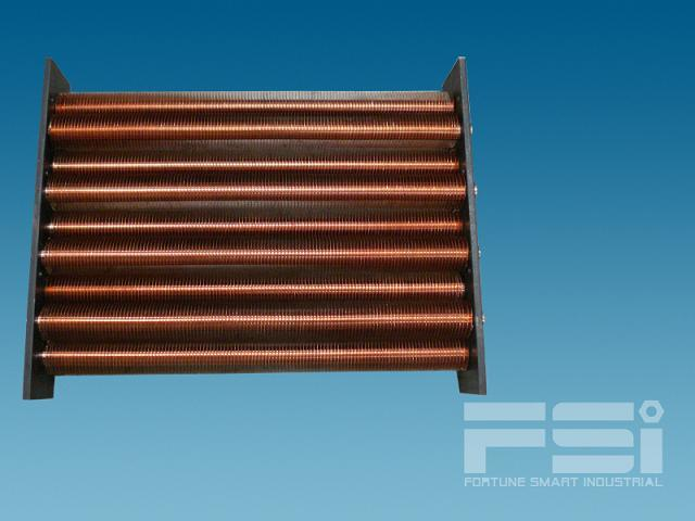 Copper Finned Tube Heat Exchanger 616
