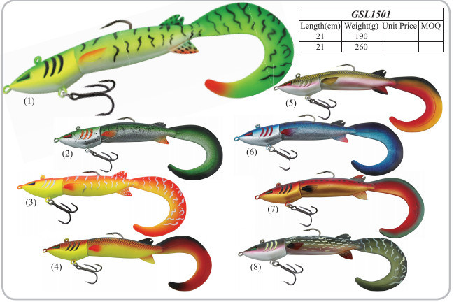 Top Quality Soft Fishing Lure