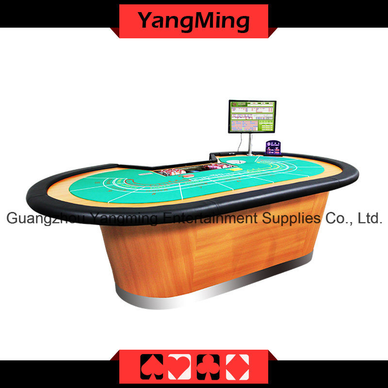 8 P Baccarat Casino Poker Table Can Be Custom (YM-BA07)