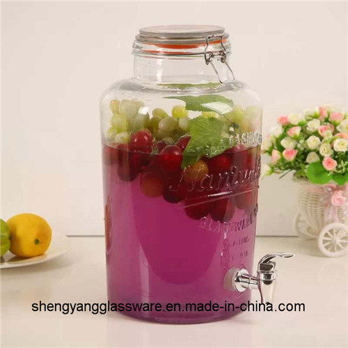 756faca92be China Hot Sell 3.5L Juice Glass Drink Dispenser with Tap Photos ...