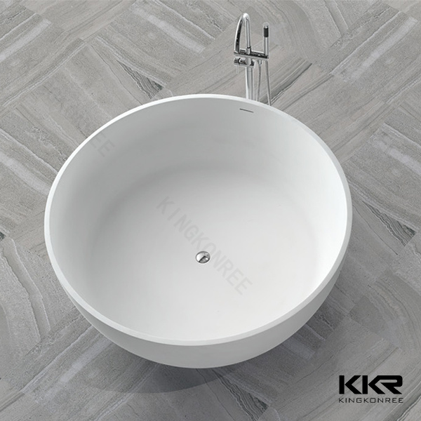 48 inch freestanding tub. China Artificial Stone Round 48 Inch Freestanding Bathtub Bathtubs  Ideas