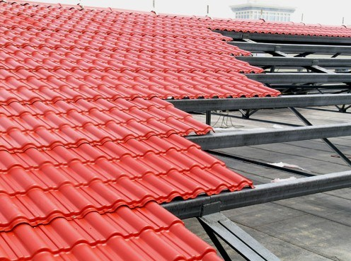 China Spanish Asa Pvc Roofing Tile Photos Amp Pictures
