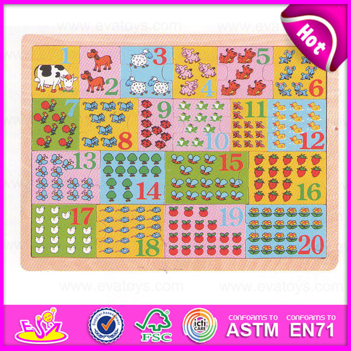 China 2015 High Quality Math Puzzle Kindergarten Toy, Educational ...