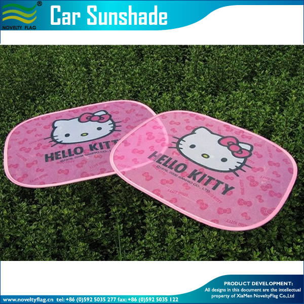 Custom Cartoon Foldable Cute Car Sun Shade (M-NF29F14014) pictures & photos