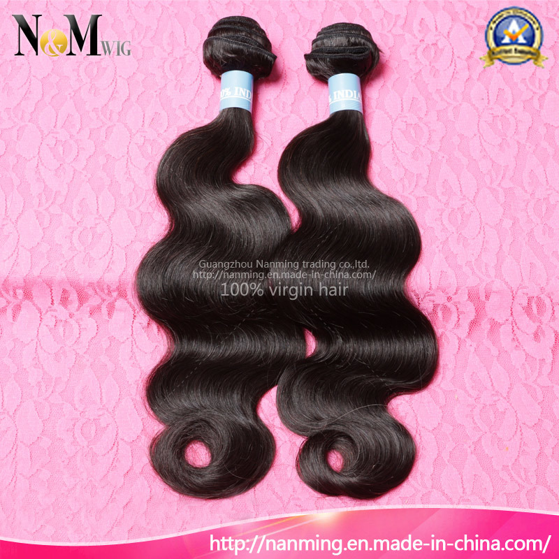 China Indian Human Hair Extension Weaving Hair Best Selling China
