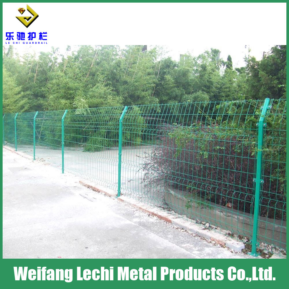 China Welded Security Bilateral Wire Mesh Fence Enclosure for ...
