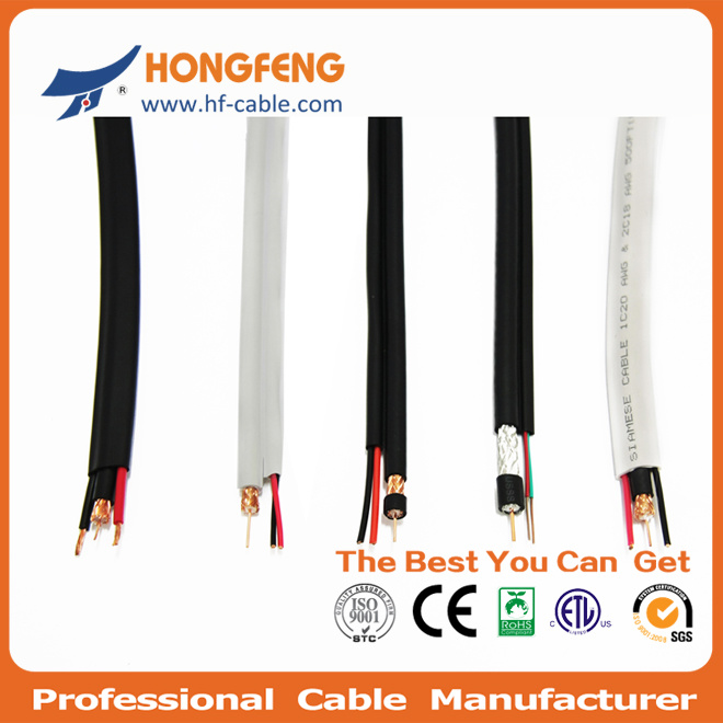 Best Quality with Reasonable Price Rg59 2c Siamese Cable