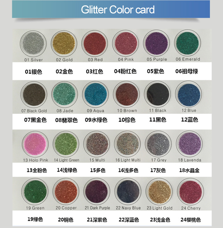 Hot Sales Heat Transfer Vinyl Glitter Korea Material and Quanlity pictures & photos