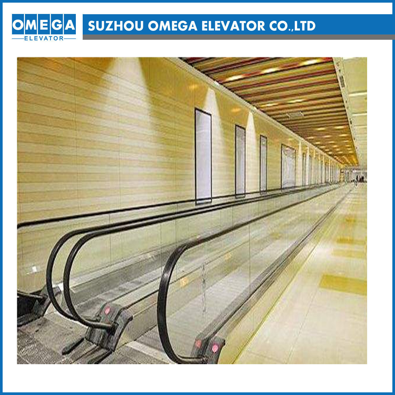 China 0 12degree High Quality Cheap Price Escalator From Factory Schematic Moving Walkway