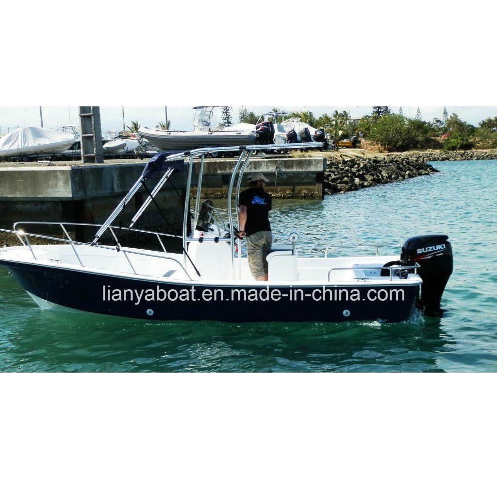 Hot Item Liya 5 8m Center Console Sport Fishing Boat Fiberglass Speed Boats