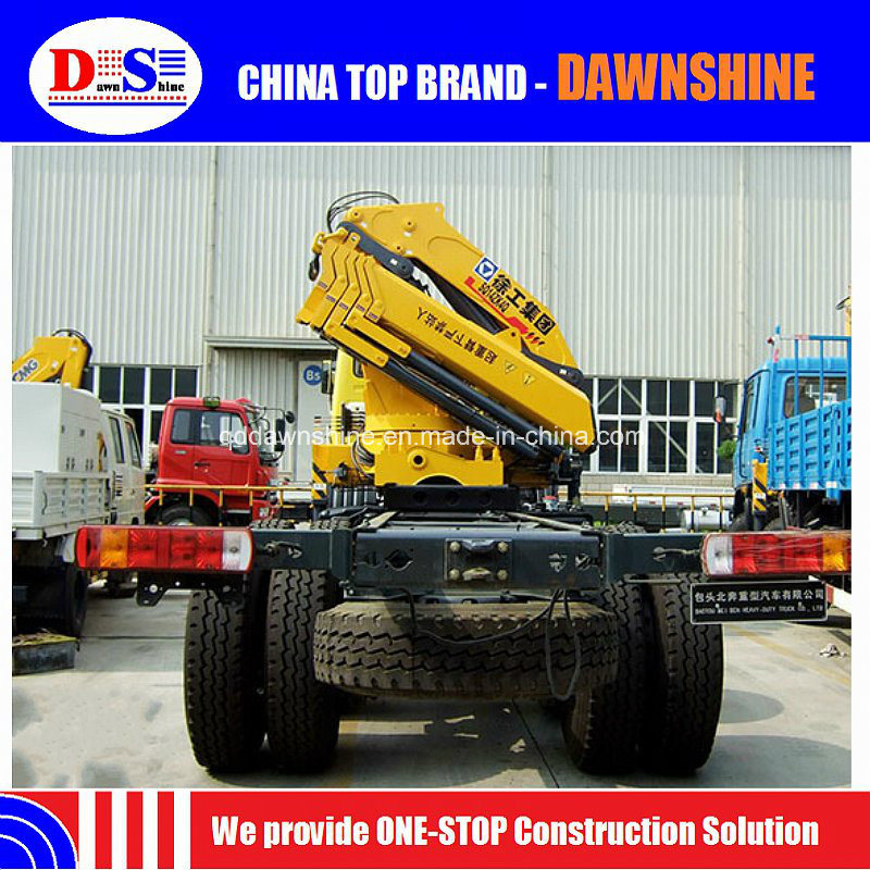 14 Tons Knuckle Boom Truck Mounted Crane Sq14zk4q for Sale pictures & photos