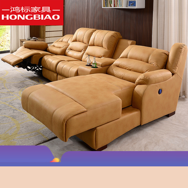 [Hot Item] 8 Point Vibration Massage Heat Electric Power Lift Chair Recliner Wall Fabric Sofa with Motor & Remote Control