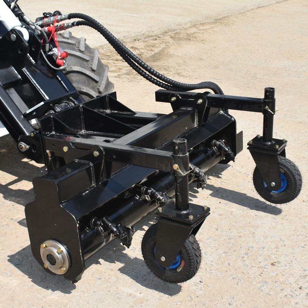 Power Rake For Sale >> Hot Item Bobcat Skid Steer Wheel Loader Attachments Power Rake For Sale