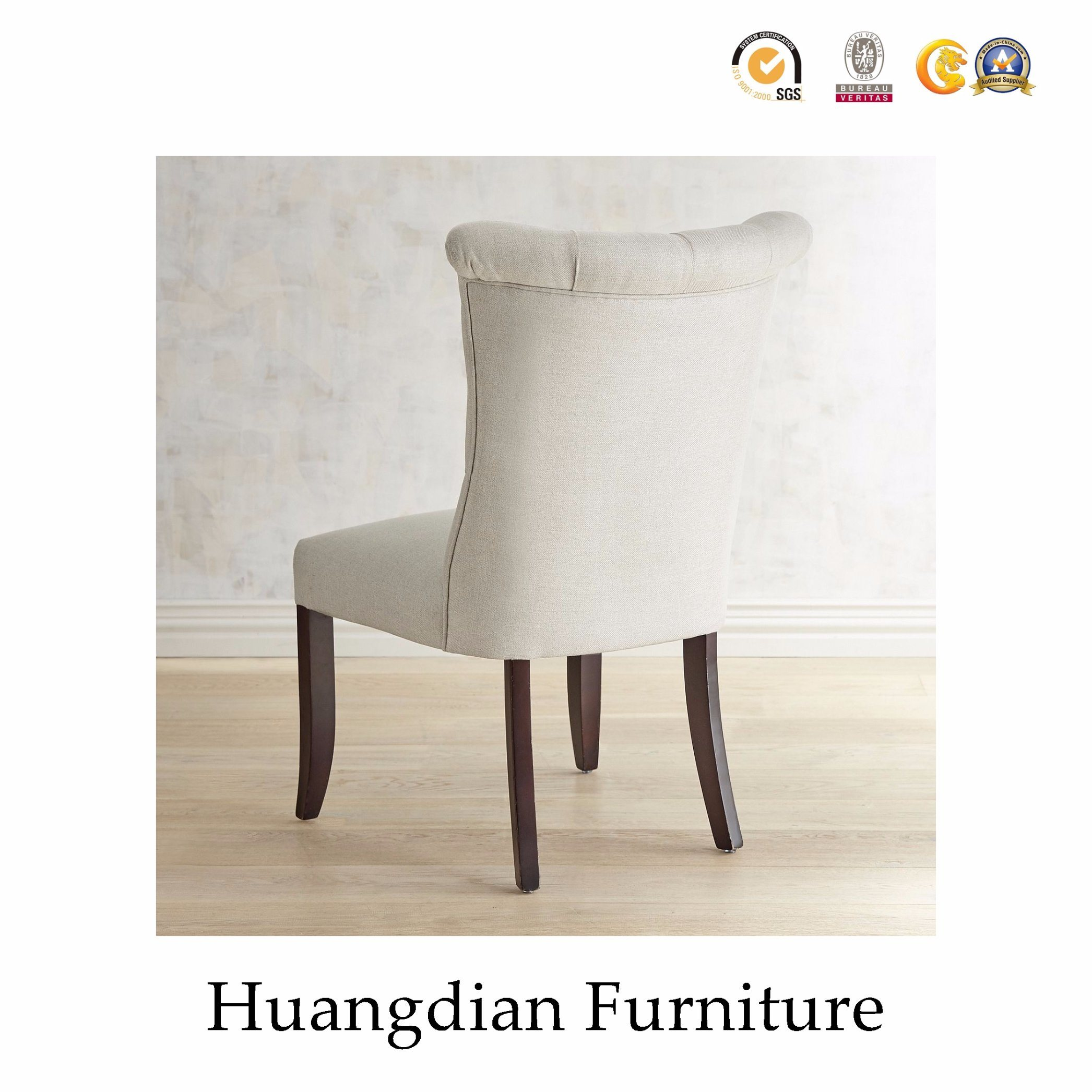China Restaurant Chair Manufacturers Tufted Dining Chair