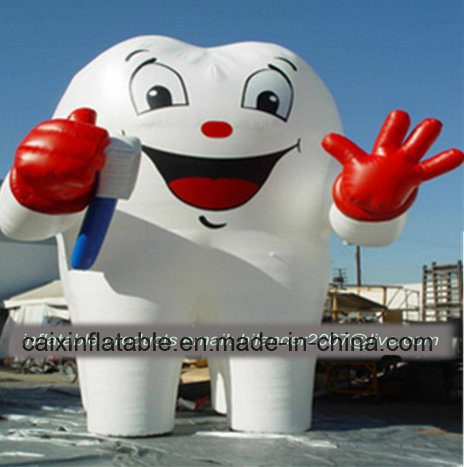 2019 New Outdoor Standing Display Inflatable Big Tooth Model Replica for Sale pictures & photos