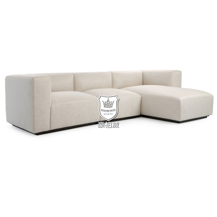 [Hot Item] Bespoke North European New L Shaped Sofa Designs