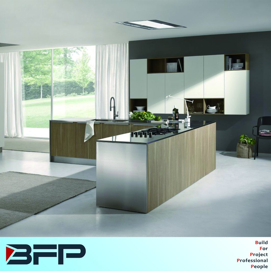 China modern Kitchen Design MDF Kitchen Cabinets for Home Furniture ...