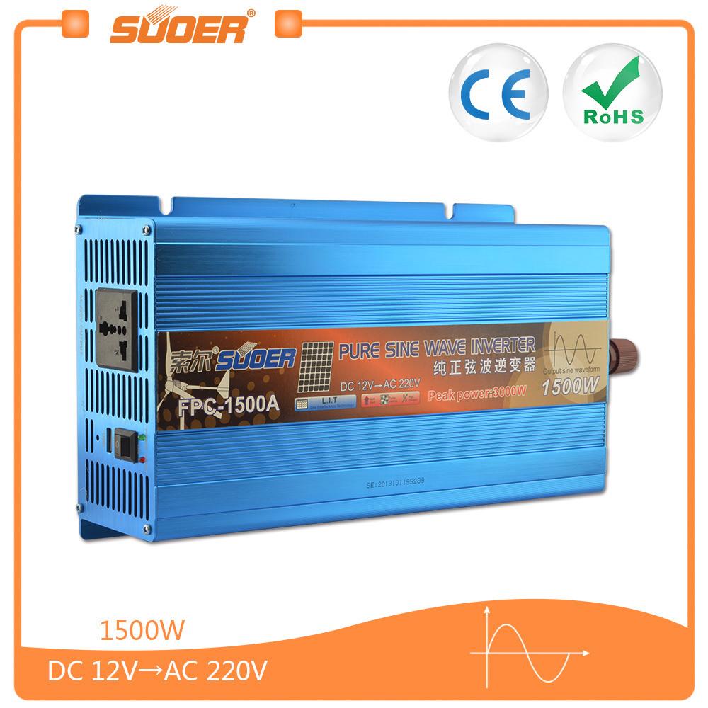 China Suoer 1500w 12v Pure Sine Wave Power Inverter Fpc 1500a Downloads Ac Wavedc Sign Wavesine Diagrampwm