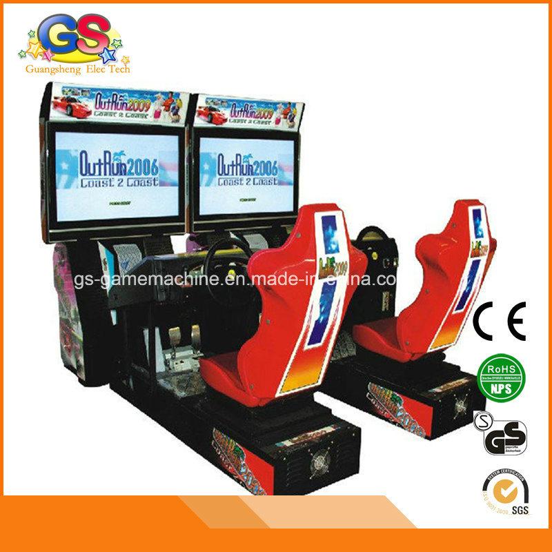 china coin operated car racing simulator driving outrun arcade