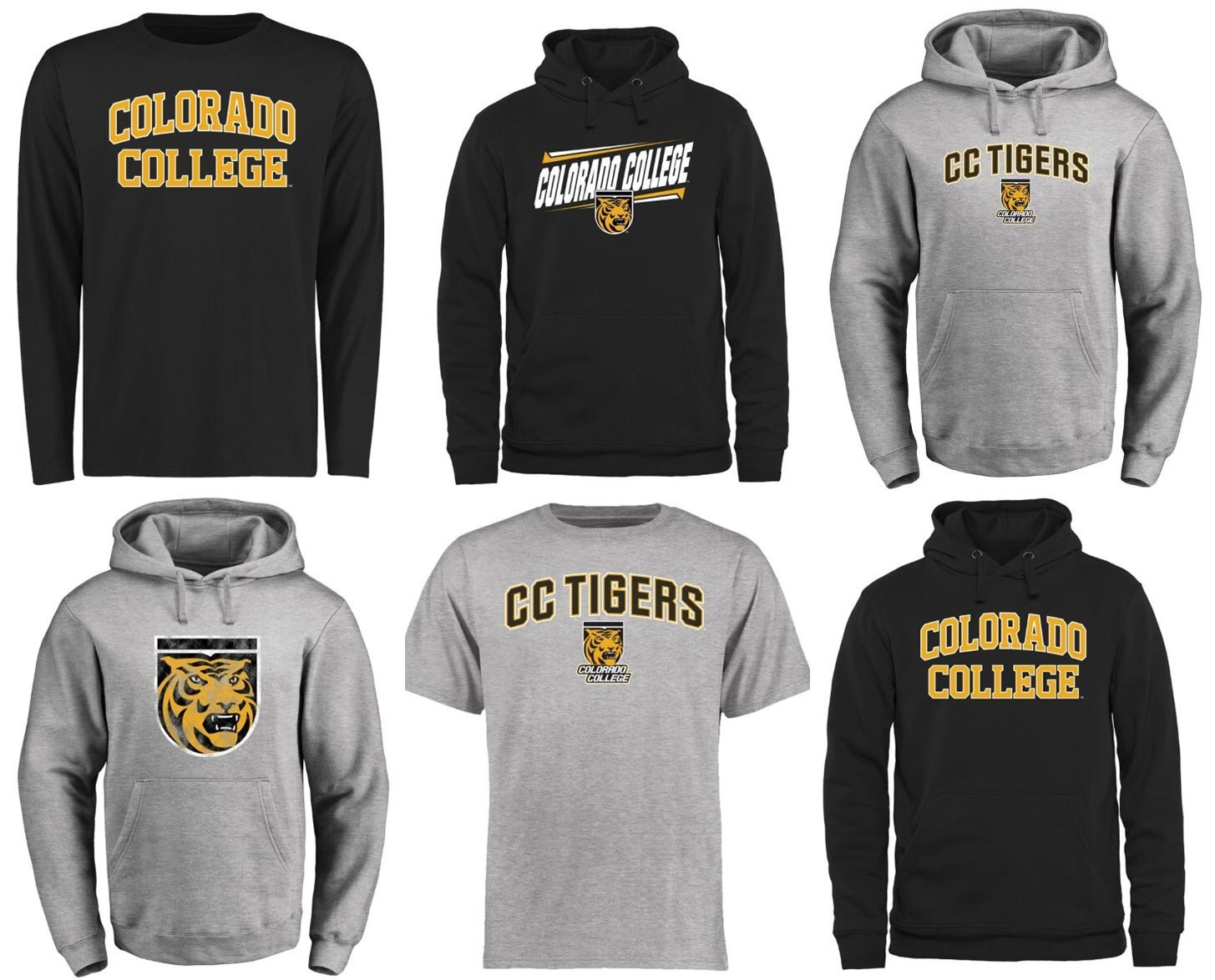 buy online bb469 18f56 [Hot Item] Customize Colorado College Tigers Ncaa Jersey &Pullover Hoodie &  T-Shirt