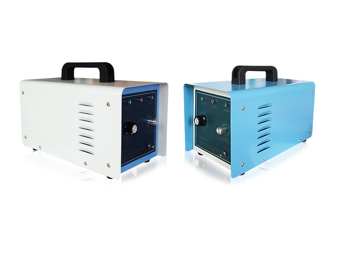 Portable Ozone Generator for Air Purification and Water Disinfection