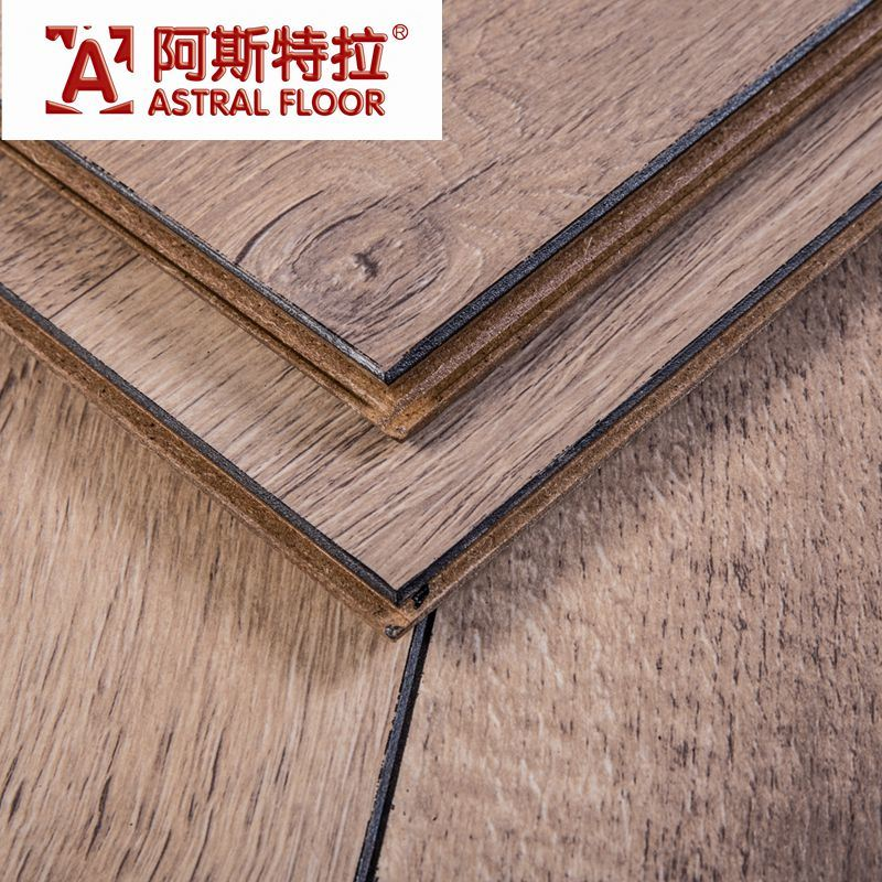 V Groove Embossed Surface Waterproofed Laminate Flooring