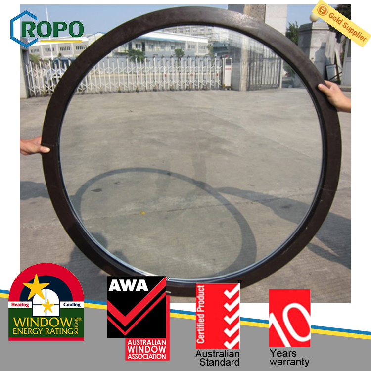 newest 8b82e deae7 [Hot Item] PVC Profile Fixed Glass Round Window Price, Double Glazed Small  Size Fixed Windows