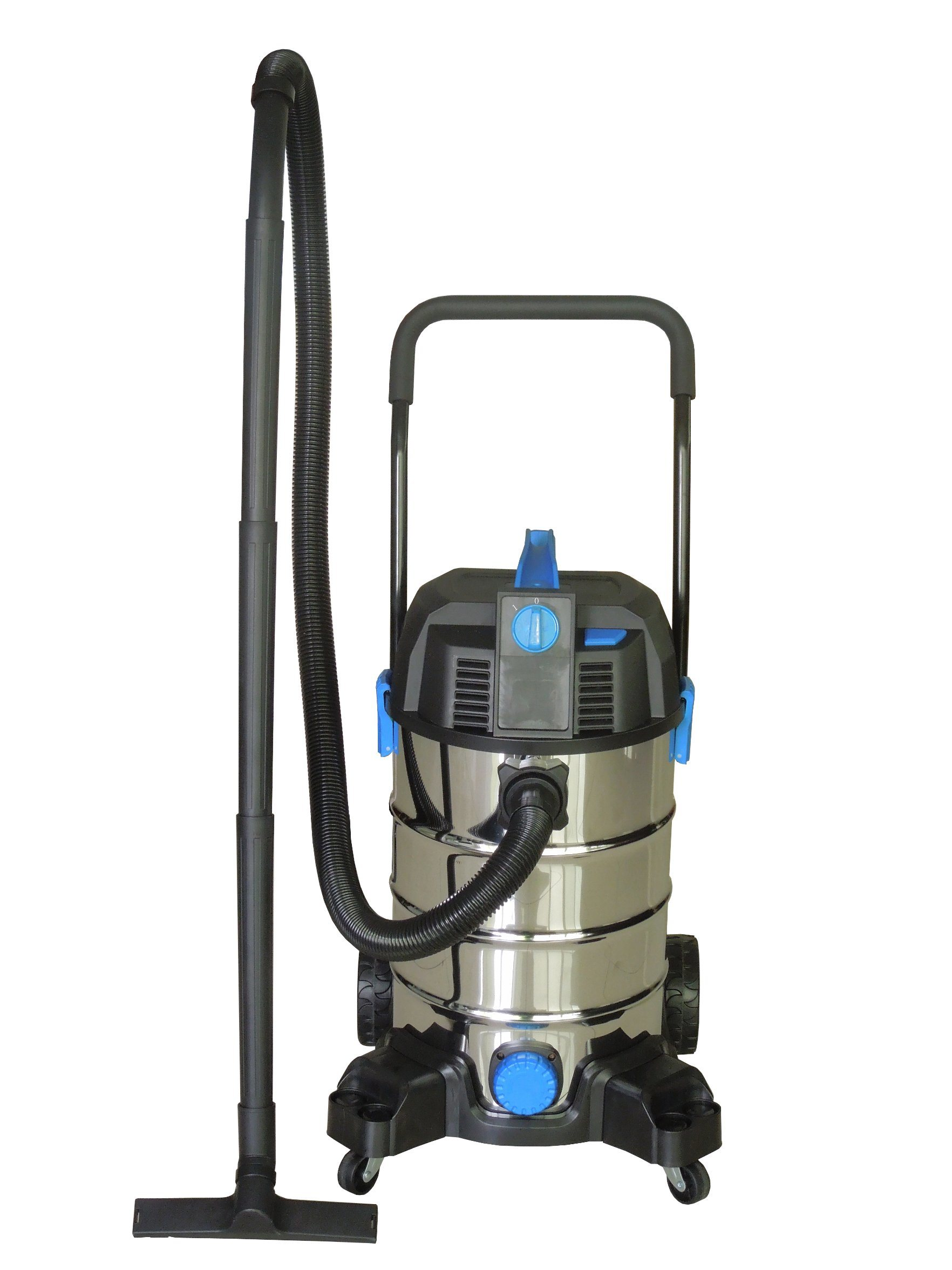 308-30L Stainless Steel Tank Wet Dry Water Dust Vacuum Cleaner with or Without Socket
