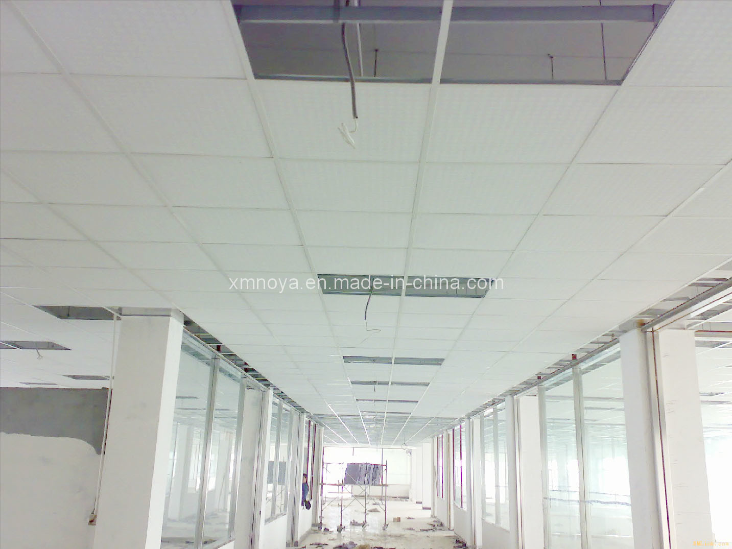 China Suspended Ceiling System Building Steel T Grid For