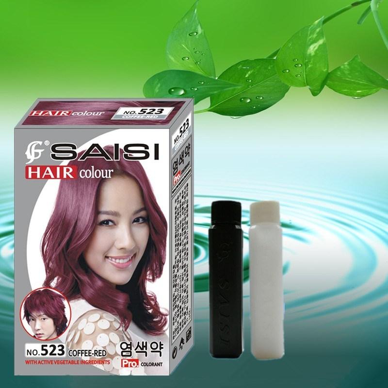 China Saisi Permanent Hair Color Cream China Color Cream Hair Color