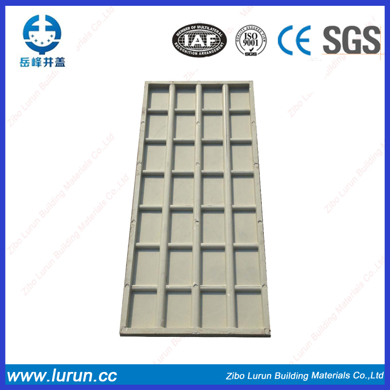 Security Square FRP GRP Manhole Cover with Locking