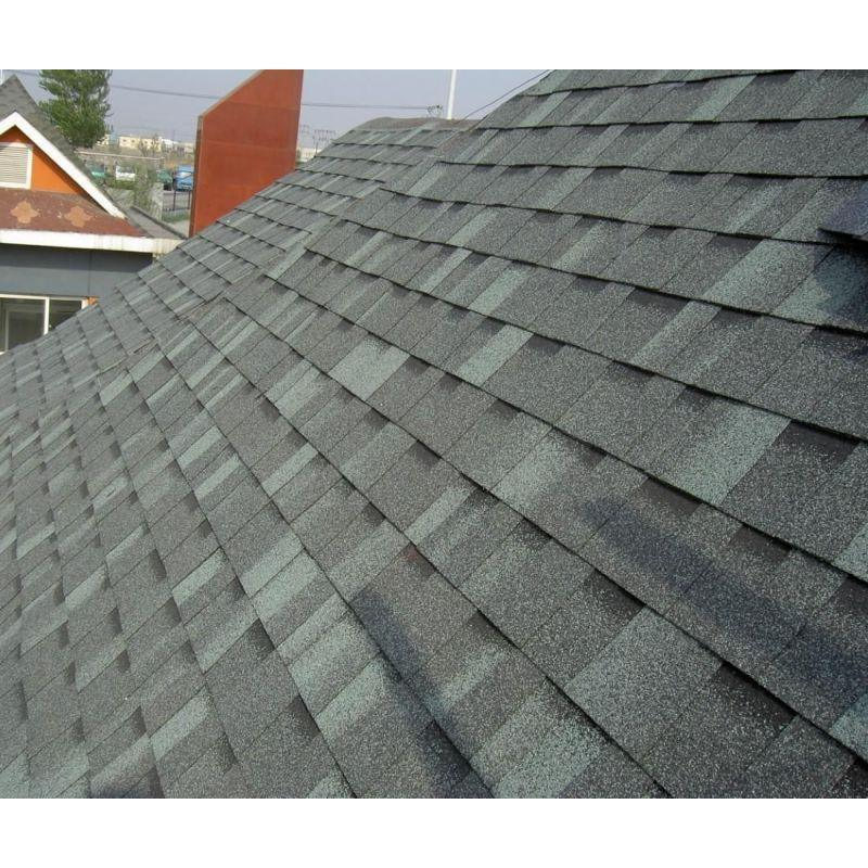 Brown Roofing Tile /Johns Manville Asphalt Shingle /Self Adhesive Roofing Material (ISO)