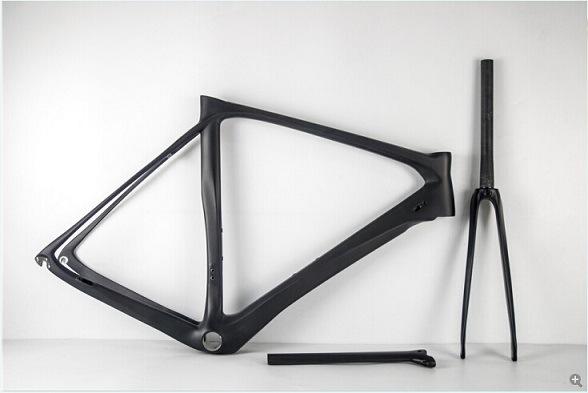 China 58cm Super Light Carbon Frame 960g Carbon Fiber Bicycle Frame ...