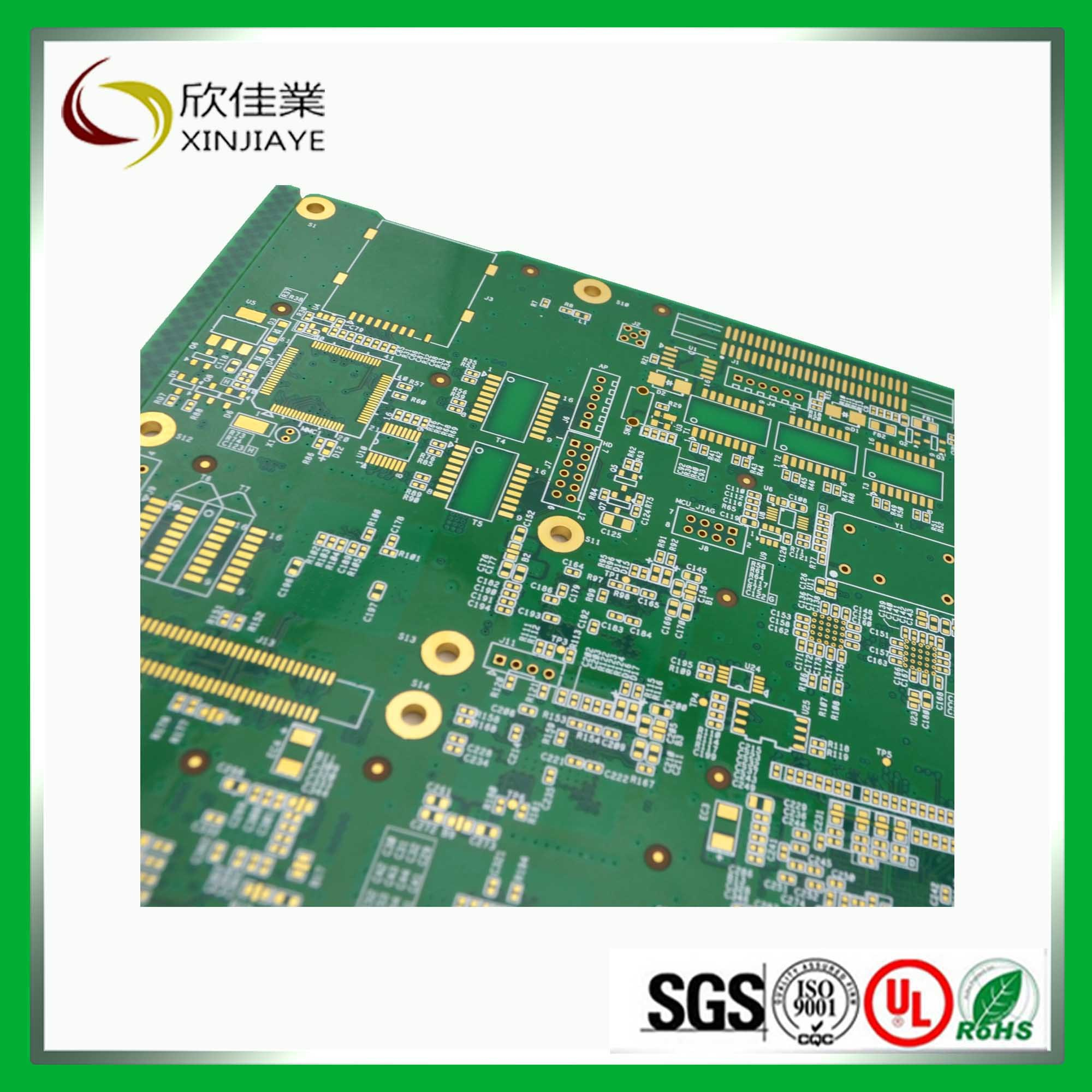 High Quality Printed Circuit Board with Immersion Gold