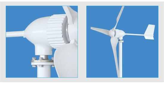 1kw Wind Generator for off/on Grid System Solution pictures & photos