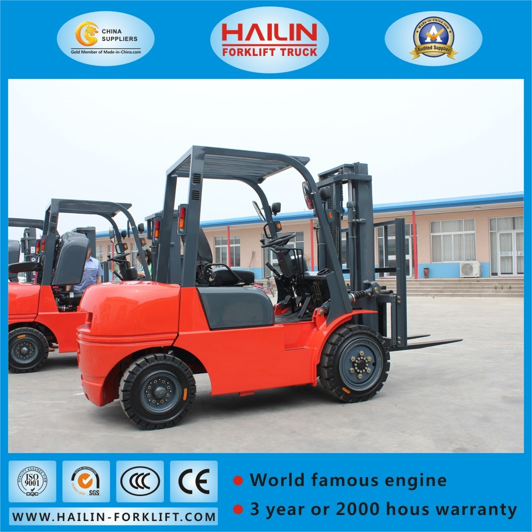 3.5ton Diesel Forklift, Isuzu 4jg2 Engine pictures & photos