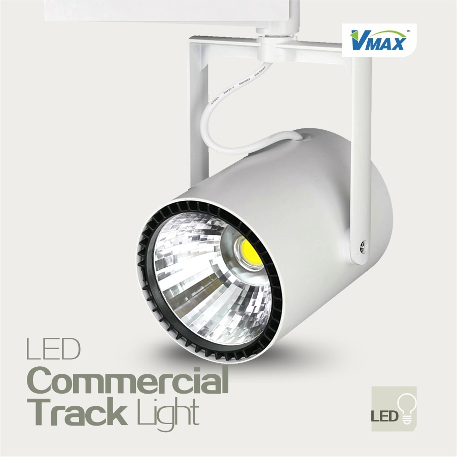 matte white project light dimmable pd head step led lighting track integrated source linear shop