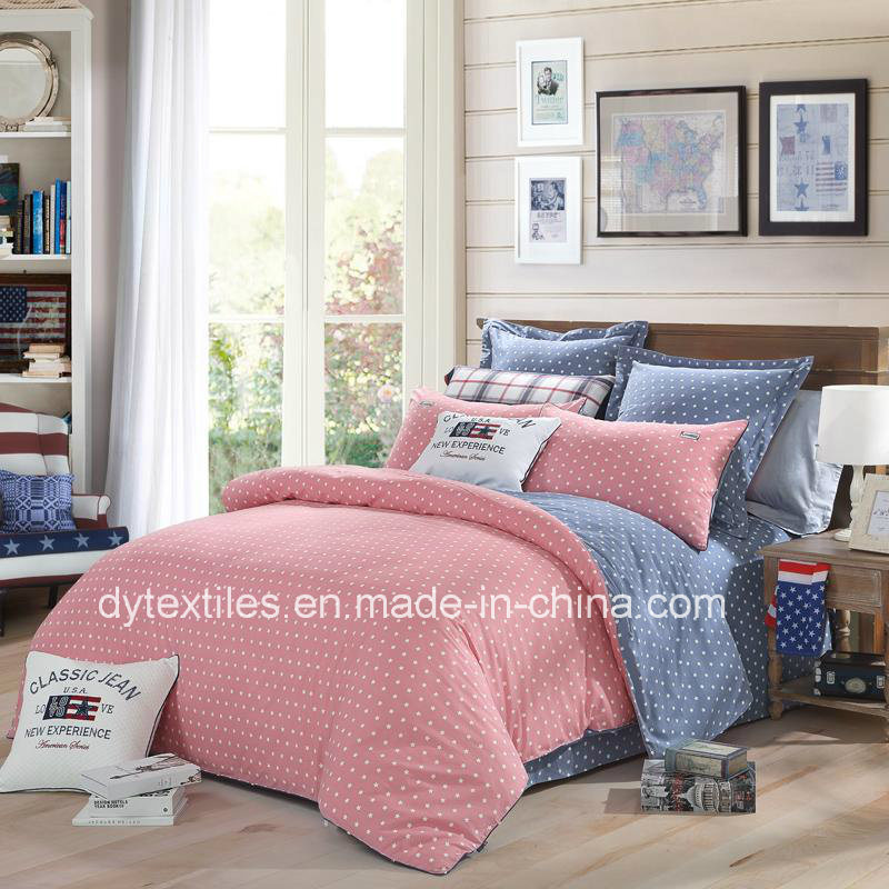 China New Design 100 % Cotton Luckly Star Bedsheets Set For Autumn And  Winter   China Bedsheets Set, 100 % Cotton
