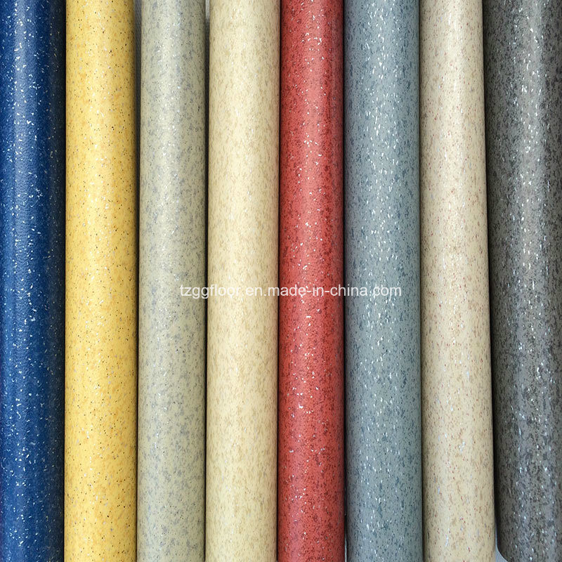 PVC Material and Indoor Usage PVC Vinyl Flooring