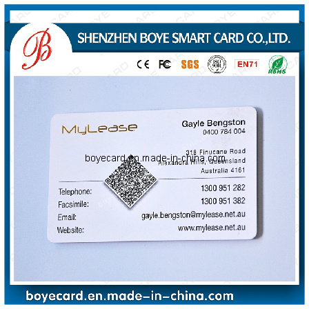 [Hot Item] SGS Approved Plastic Business Card with Qr Code