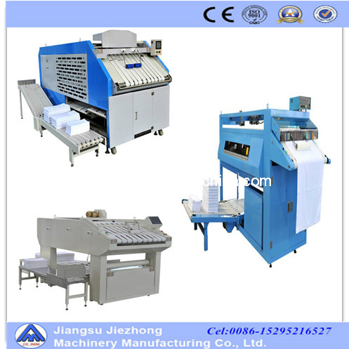 Floding Towel Machinery/Laundry Folding Machine /Bedsheet Folding Machine