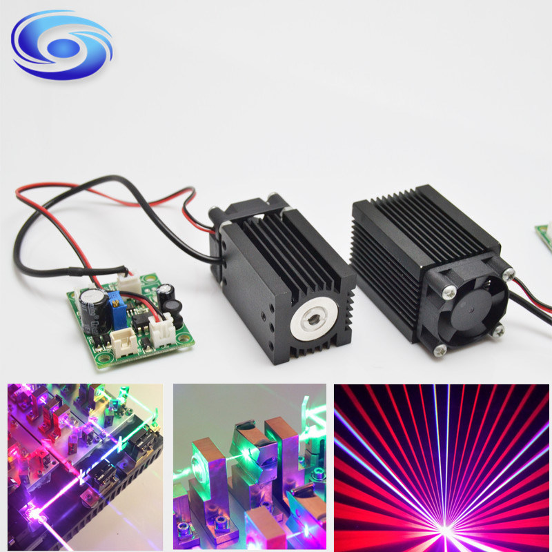 DOT Laser Module 1.6W 445nm Blue Laser Module for Laser Display pictures & photos
